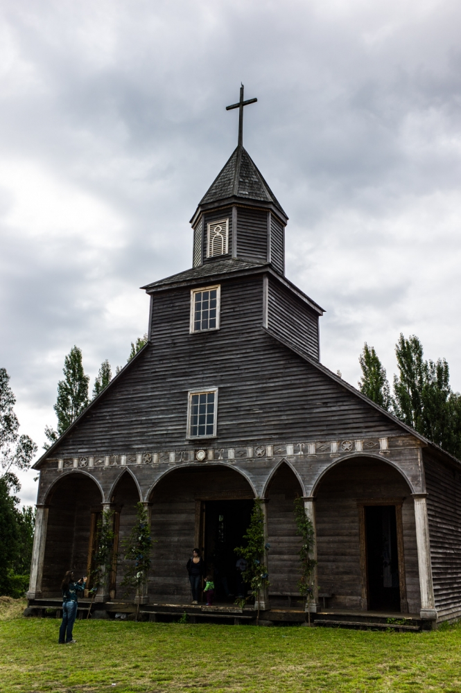 Chili - Tour des églises en bois de la grande île de Chiloé