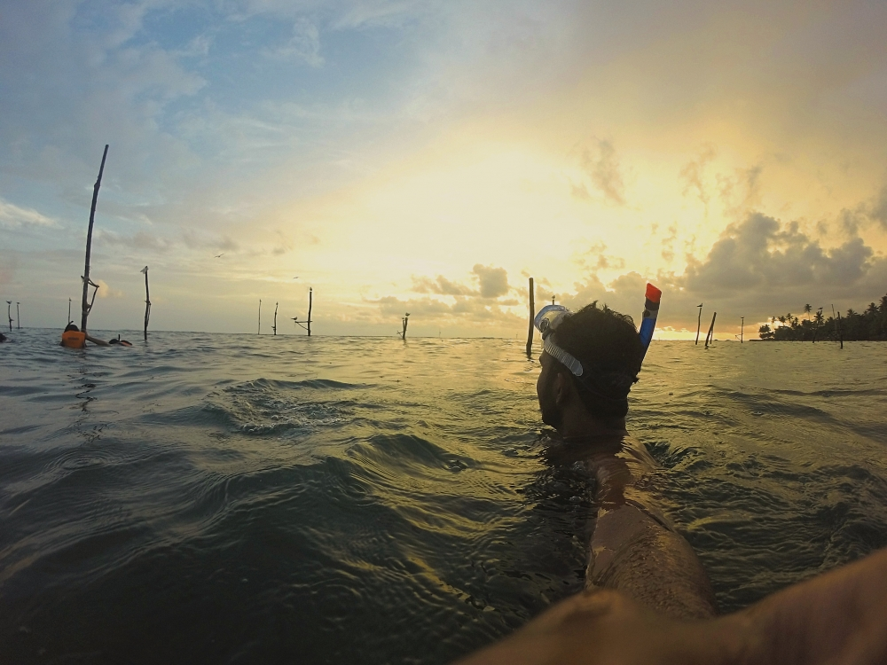 Sri Lanka - Séjour surf et snorkeling vers Weligama