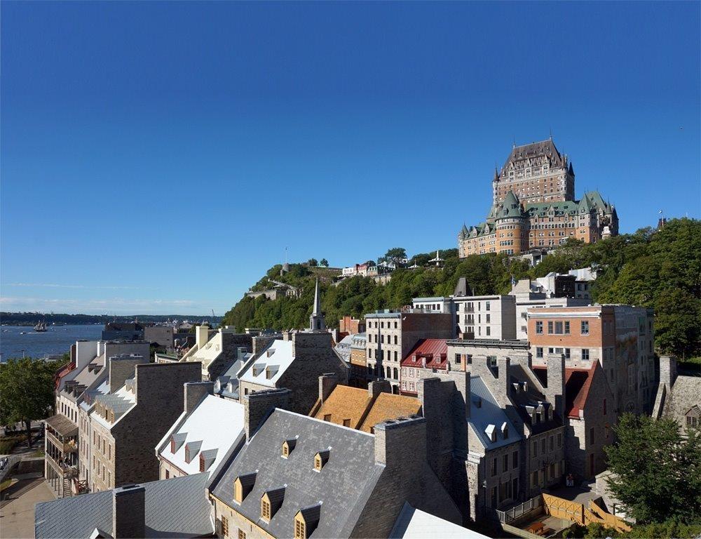 Canada - Présentation en salon privé sur l'histoire du Vieux-Québec
