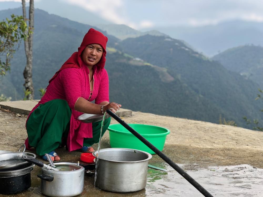 Népal - Séjour chez les Tamangs, habitants des moyennes montagnes proche de Kathmandu