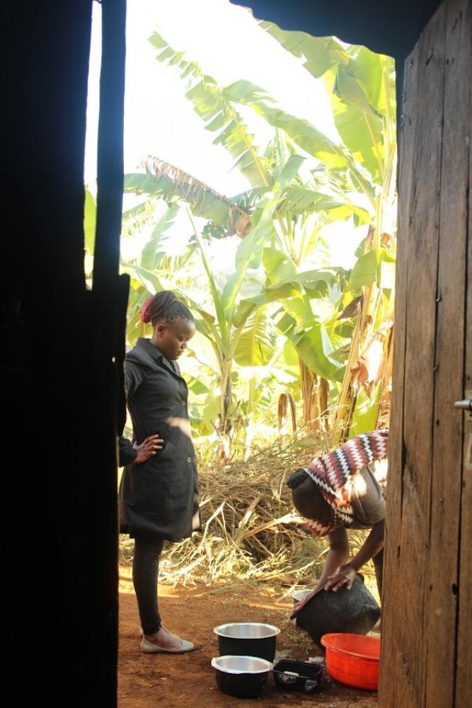 Kenya - Expérience chez l'habitant à Gacharageini au milieu des champs de thé et au bord du parc national de Aberdare