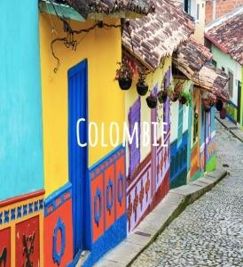 image de la Colombie pour idée de voyage durable dans le monde
