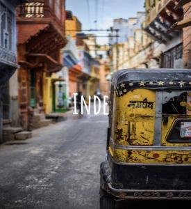 image de l'Inde pour idée de voyage durable dans le monde