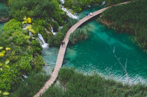 image lac et foret écotourisme