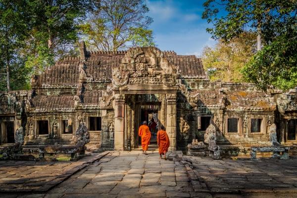 temple angkor cambodge pour voyage sur mesure durable