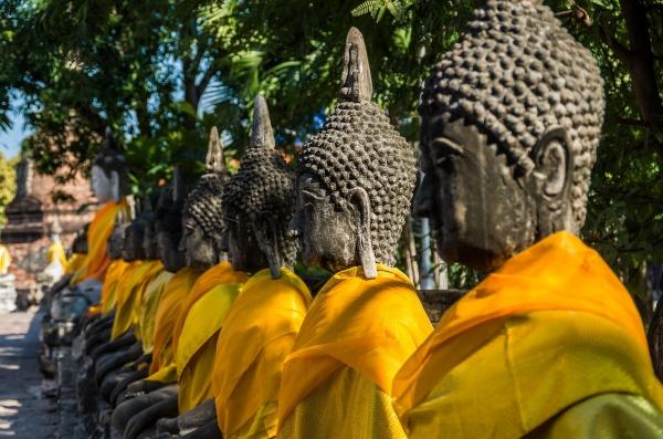 wat yai chai mongkhon temple voyage thailande
