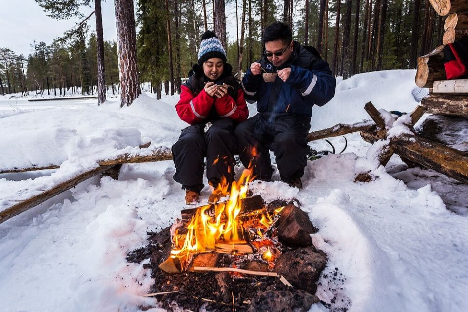 From Rovaniemi: Half-day Lapland Ice-Fishing Experience