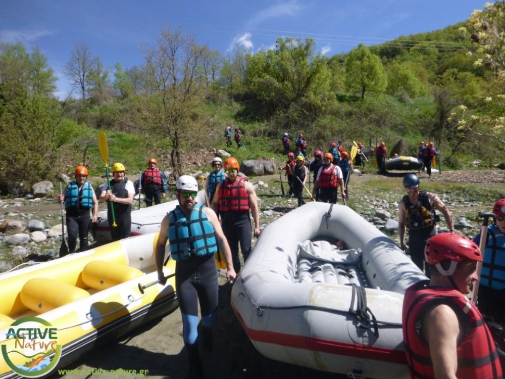 Venetikos River Rafting Experience in Greece