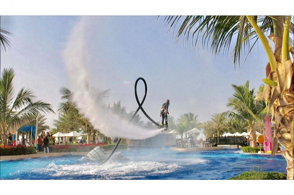 Dubai Flyboard Experience for Beginners at JBR Beach