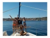 Full-day Private Sailing Cruise from Kardamyli & Stoupa
