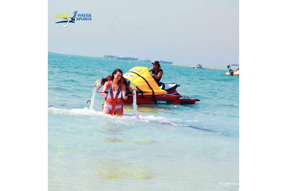 Dubai Water Sports: JBR Beach Jetpack Flying Experience