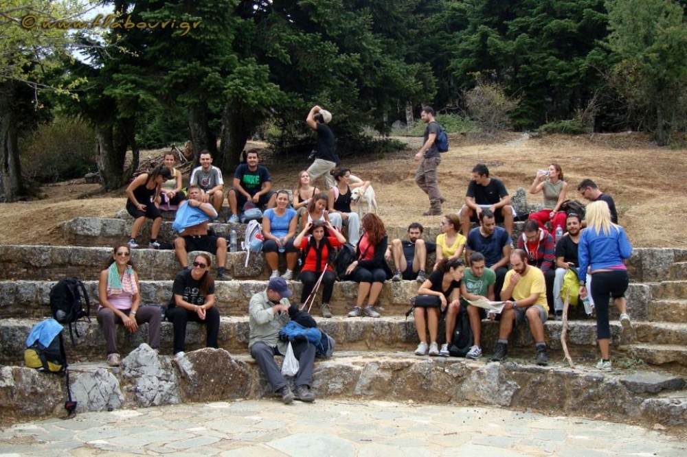 Mount Parnitha Flabouri Refuge, Athens