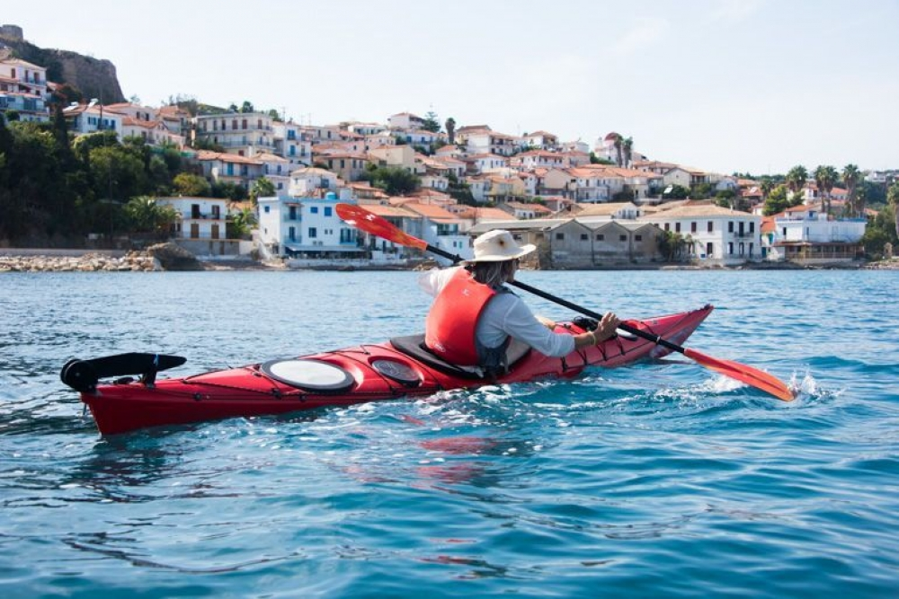 From Koroni: Half-day Sea Kayaking Tour with Lunch - 2020