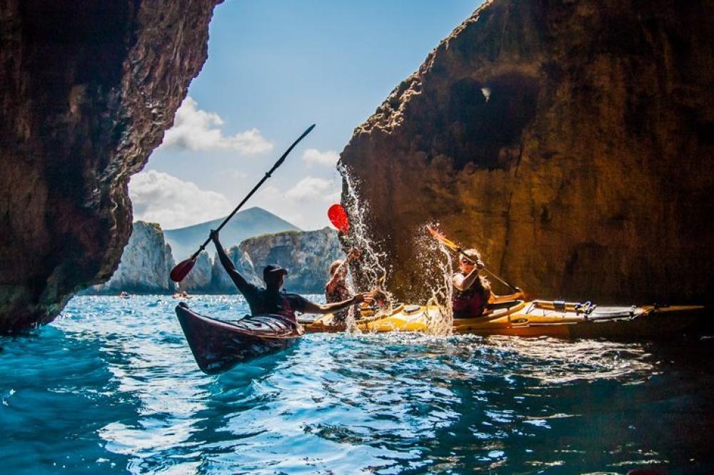 Half-day Sea Κayaking Tour in the Navarino Bay, Greece