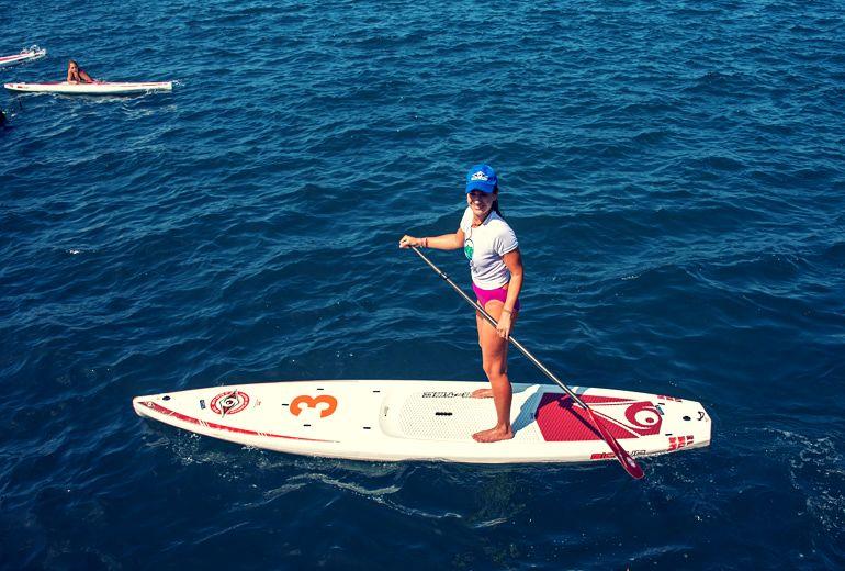 Kalamata SUP: 4-hour SUP & Snorkeling Tour from Voidokoilia or Kardamyli near Kalamata