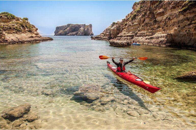 Pylos Kayaking: Half-day Pylos Kayaking Tour near Kalamata