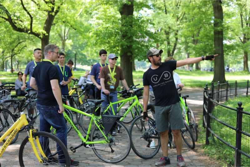 New York City: Fantastic Biking Tour in Central Park