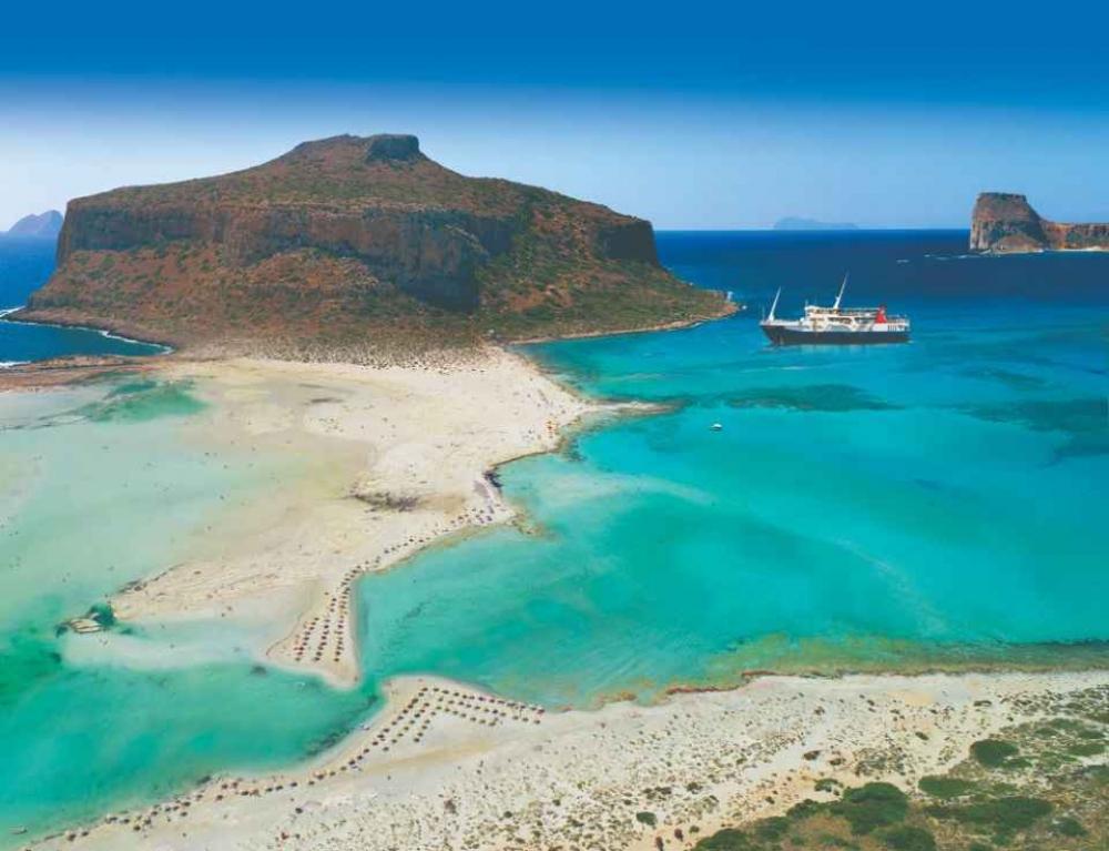 From Kissamos: Full-day Boat Cruise to Balos Lagoon & Gramvousa - 2020