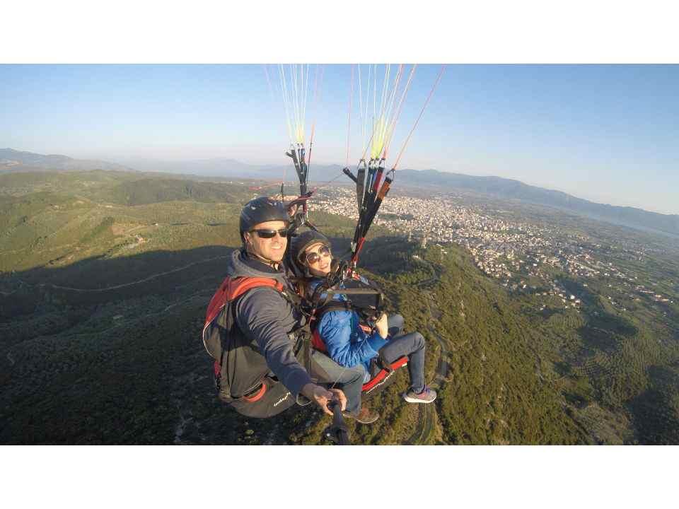 Kefalonia Paragliding: Tandem Paragliding Flight Experience in Kefalonia