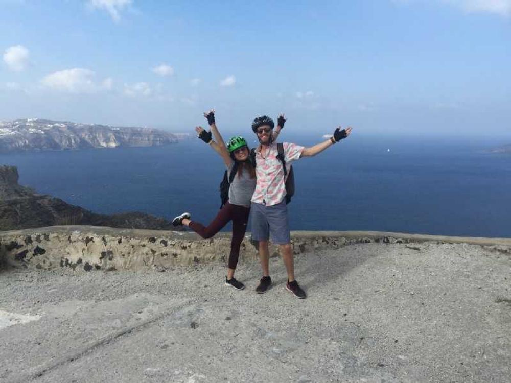 Santorini Electric Bike Tour - 2020