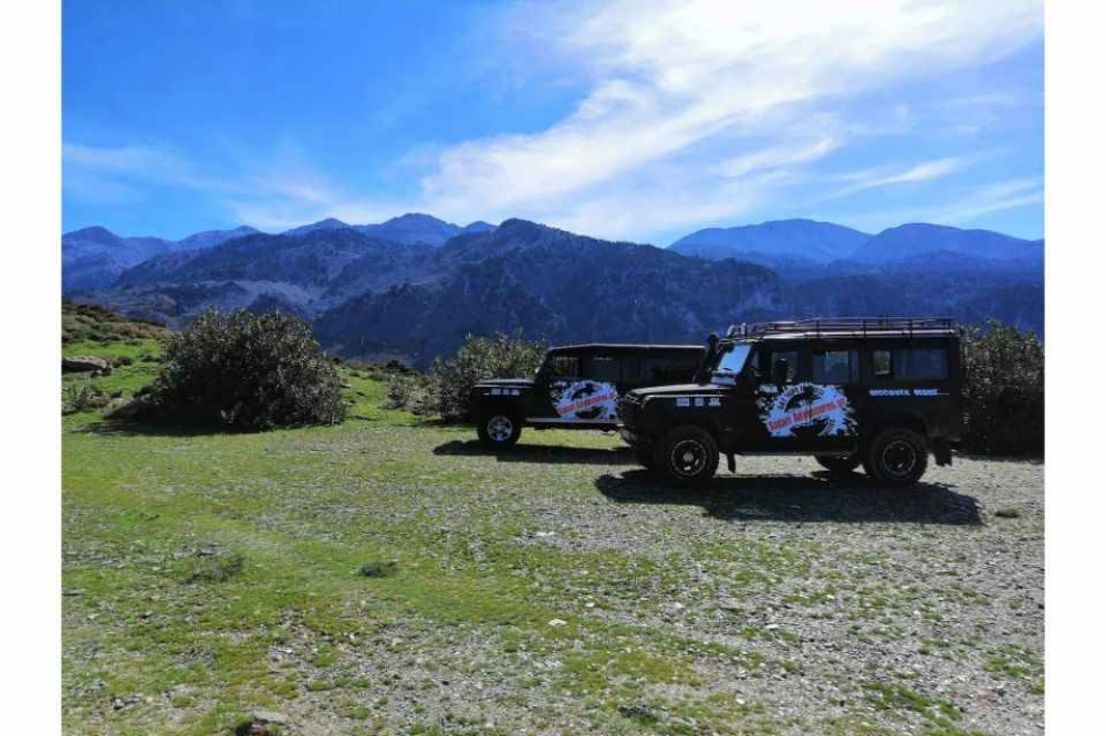 From Chania: Sunset Jeep Safari Tour with Wine Tasting Included- 2020