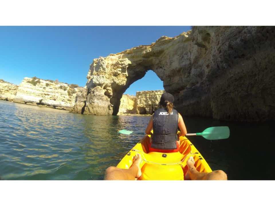 Algarve Kayaking: Wild Beaches & Caves Kayaking Tour from Armação de Pêra