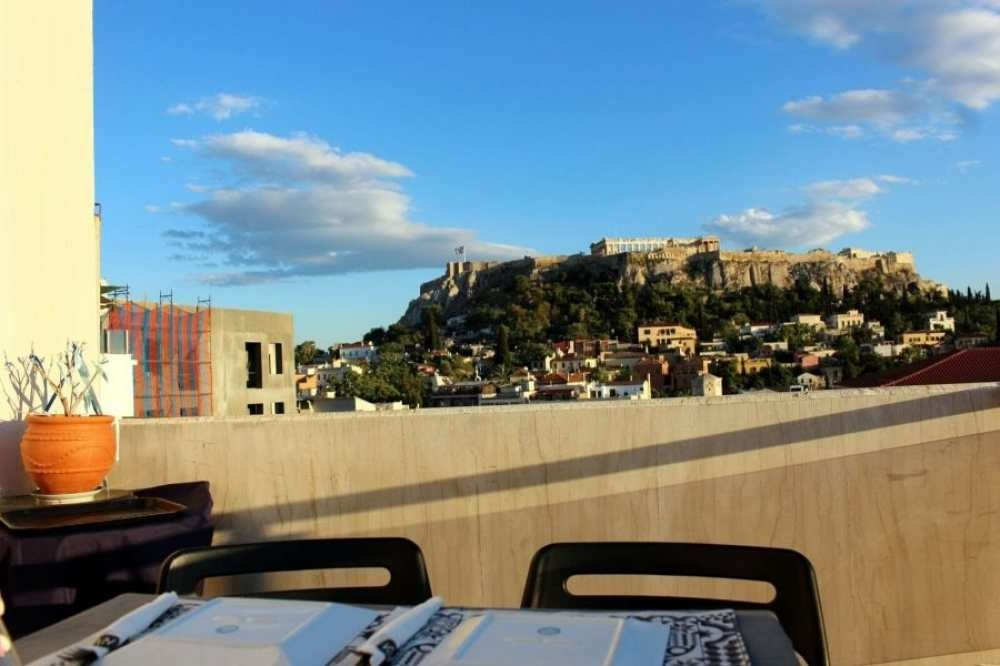 Athens: Cooking Class &  Dinner Overlooking the Acropolis
