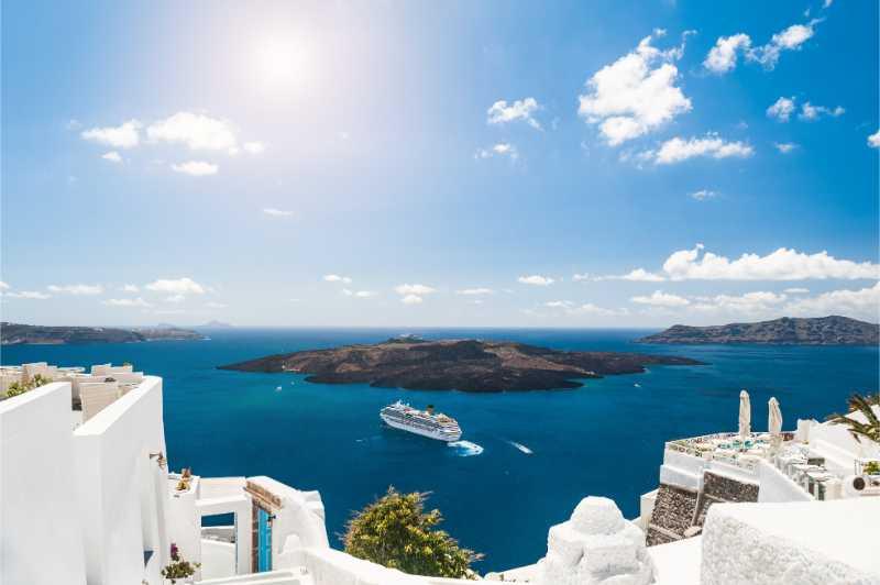 Beautiful Santorini Half Day Private Tour
