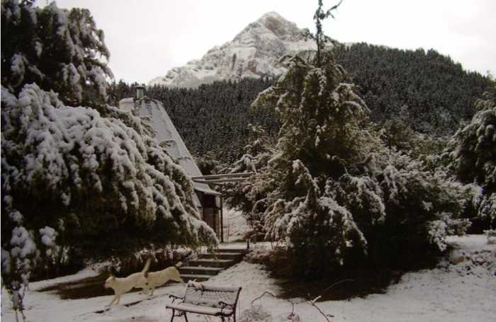 Theasis igloo Mountain Cottages in Tzoumerka Greece