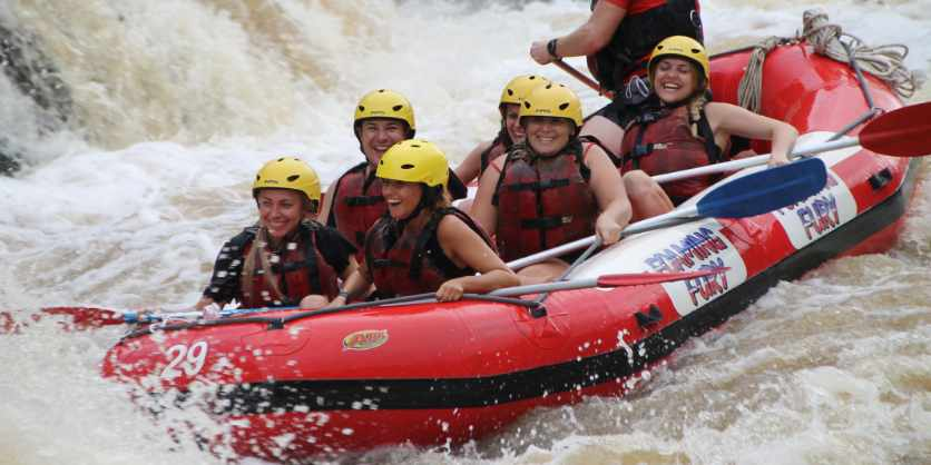 Half-Day Barron River White-Water Rafting Experience from Cairns or Port Douglas