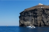 Santorini Catamaran: Half-day private Santorini Catamaran Cruise