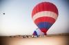 Dubai Hot air Balloon Ride: 5-hour Deluxe Dubai Hot Air Balloon Ride with Buffet Breakfast and Falcons Experience