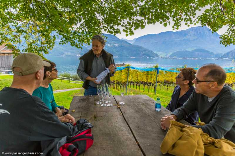 Wine Tasting Private Tour by the Lake Lucerne at a Traditional Winery