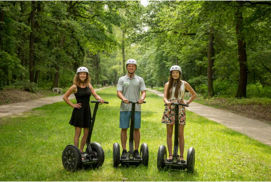 Prague: 3 Hours Private Segway City Tour (Hotel pick-up /drop-off service included)
