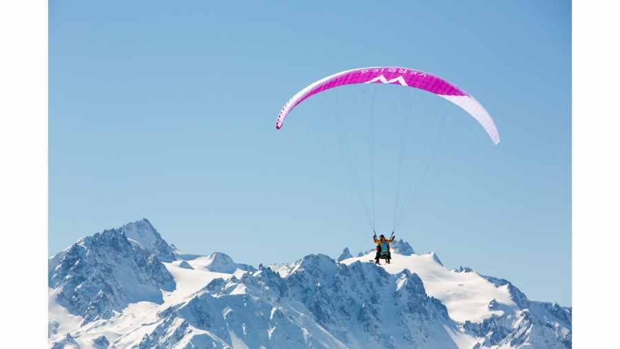 Parapente en tandem Verbier - Expérience de vol au-dessus des Alpes suisses