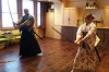 Japanese Sword Experience with Tea Ceremony, Japanese Calligraphy and Kimono Fitting Options