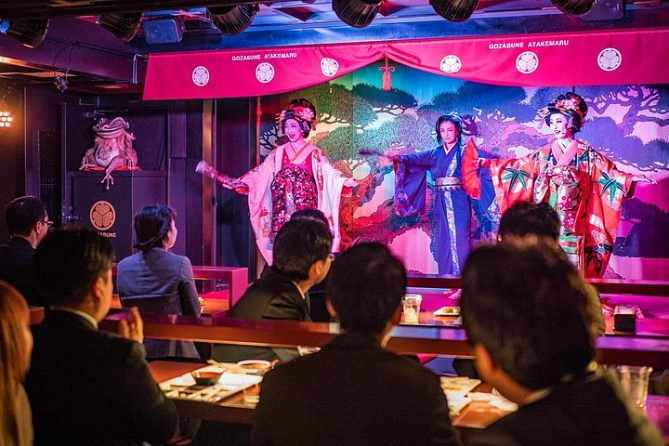 Tokyo Bay Tour with Dinner and Oiran Show