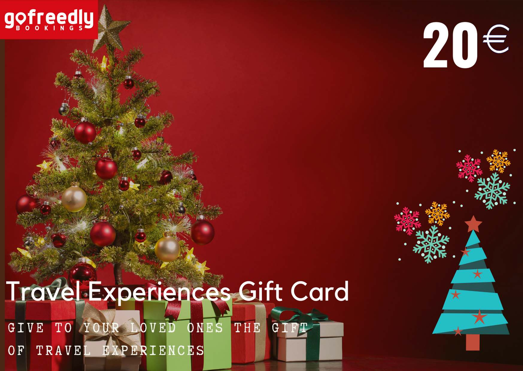Travel Experiences Gift Card from Gofreedly.com