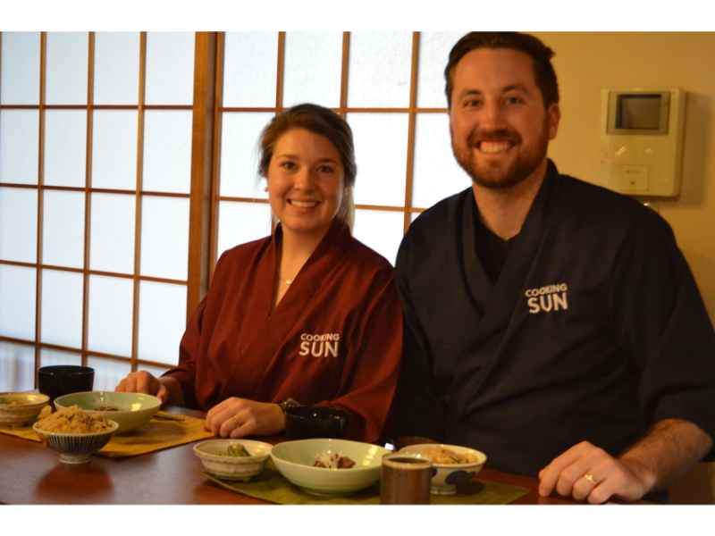 Kyoto Izakaya Cooking Class with Dinner
