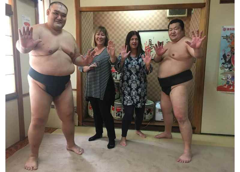 Sumo Wrestling Experience in Tokyo with Chanko Lunch Included