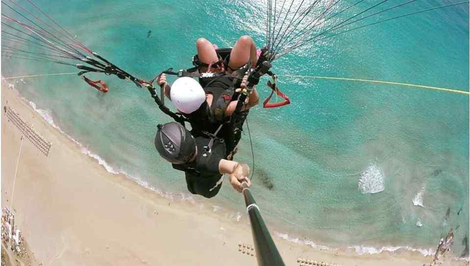 Crete Paragliding- Tandem Paragliding Flight in Chania