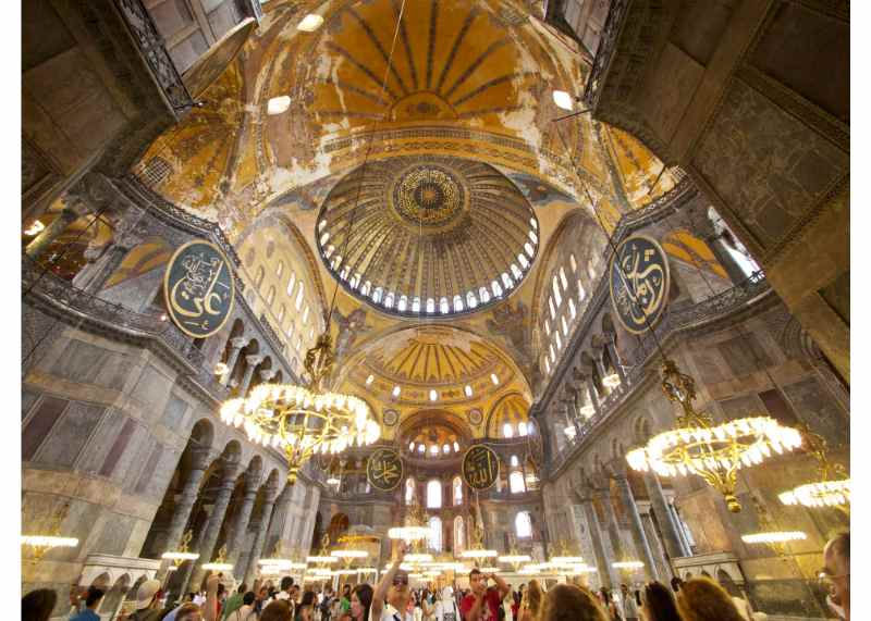 Istanbul Tour: Blue Mosque and Hagia Sophia half-day Tour with Grand Bazaar
