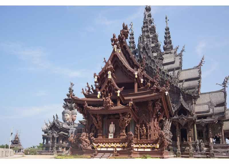 Bangkok Day Tour: Pattaya City & Sanctuary of Truth Private Tour