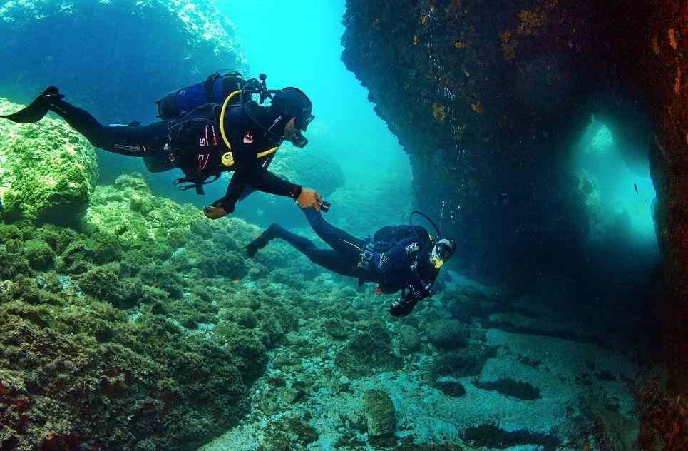 Skopelos Diving: 2.5-hour Skopelos Scuba Diving Class