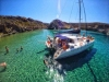 Milos Boat Tour: Full-day Poliegos & Kleftiko Catamaran Sailing Cruise