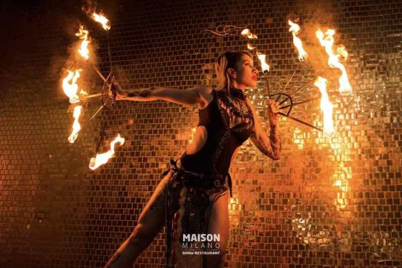 Maison Milano: 3-hour Dinner and Cabaret Show at Maison Milano