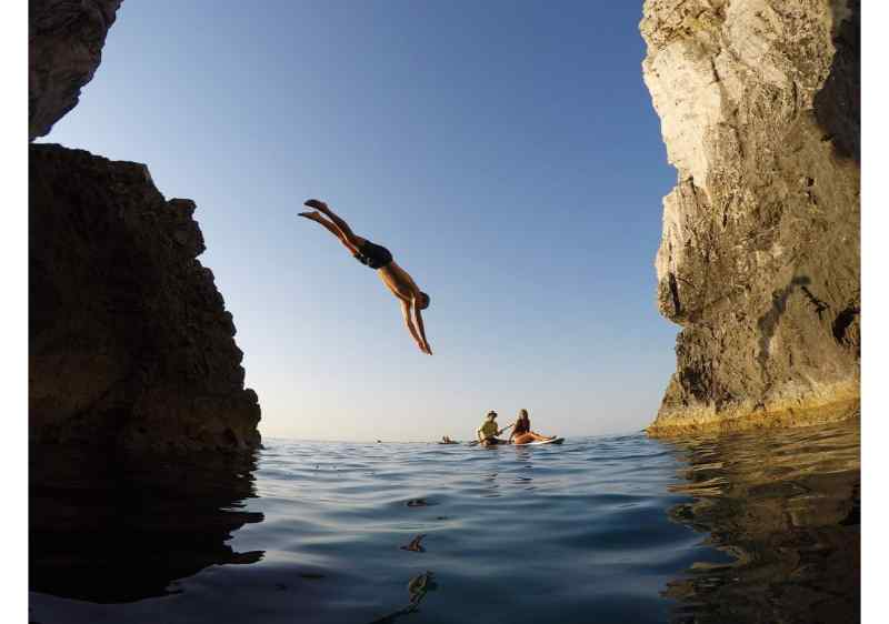 Rhodes Water Sports: 1-hour SUP Lesson for Beginners in Rhodes