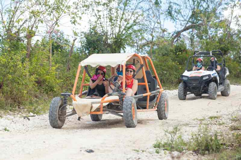 Punta Cana Buggy Tour: Flintstones Buggy Adventure from Punta Cana