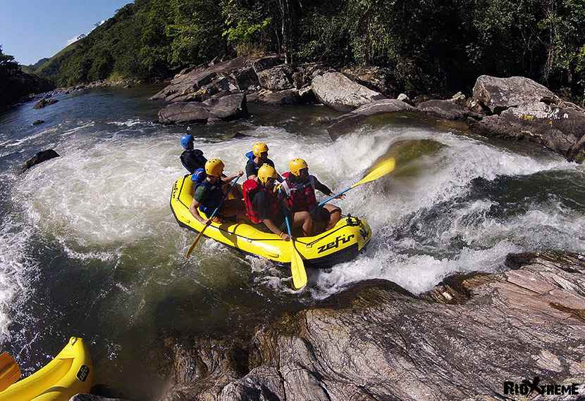 Rio de Janeiro Rafting: Full-day Guided White Water Rafting Tour