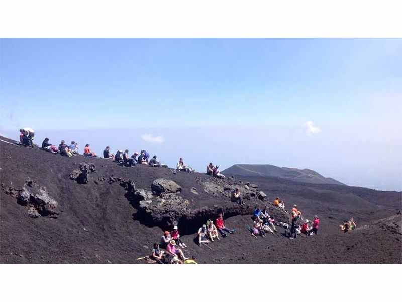 Etna Excursion: 3-hour Etna Sunset Tour